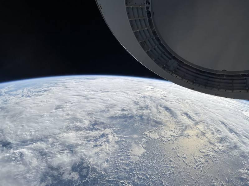 La impresionante foto de la Tierra tomada por la tripulación de SpaceX con un iPhone 12.