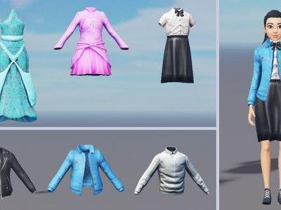 Roblox ofrecerá gestos faciales y ropa en capas para avatares más realistas