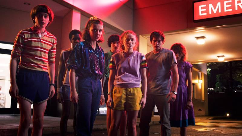 La tercera temporada de Stranger Things es, por horas vistas, la tercera serie original más popular de Netflix