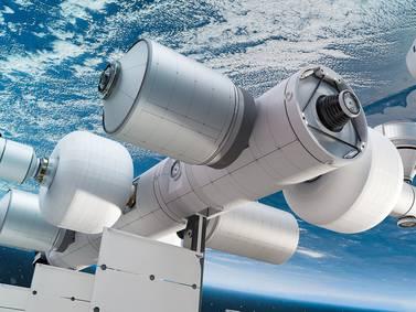 """Blue Origin planea construir Orbital Reef, una estación espacial para la """"hospitalidad exótica"""""""