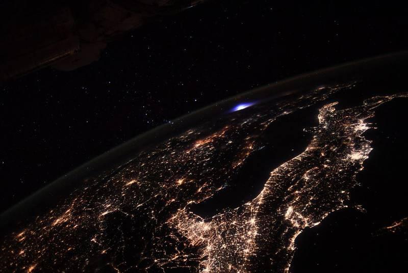 Imagen desde la ISS.