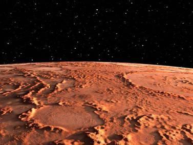 Astrónomos quieren cultivar una bacteria en Marte para fabricar combustible que sirva a futuras misiones tripuladas