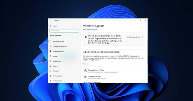 El fallo en el Windows 11