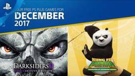 Estos son los juegos de PlayStation Plus para diciembre de 2017