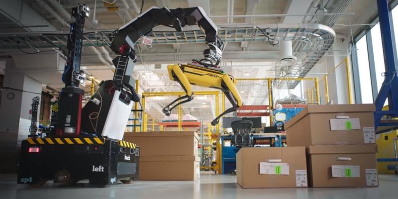 Boston Dynamics presenta a su nuevo robot Stretch y es perturbador