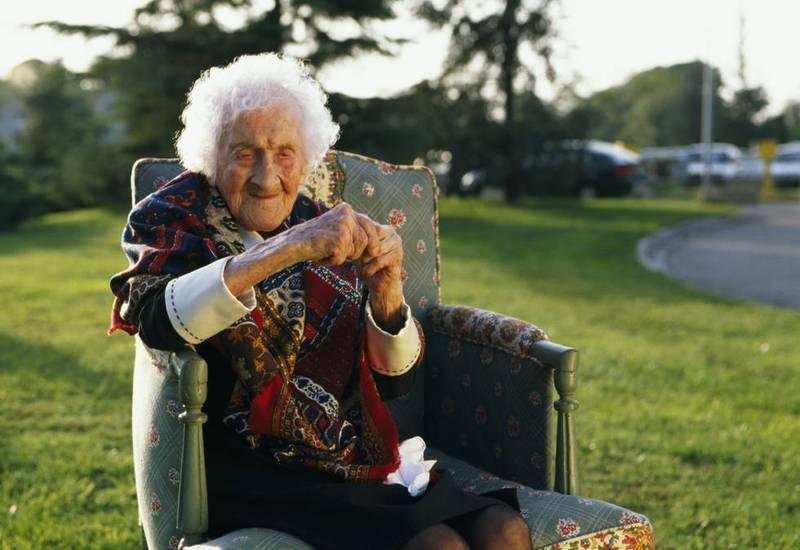 Jeanne Calment, la persona de mayor edad en la historia: vivió hasta los 122 años