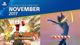 Estos son los juegos de PlayStation Plus para noviembre de 2017