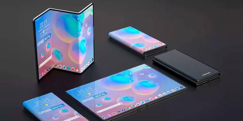 Samsung render tríptico