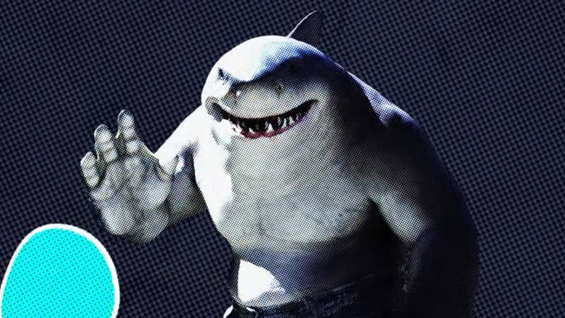 The Suicide Squad King Shark memes