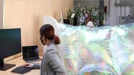 Google probará paredes robóticas infladas en sus oficinas para el regreso postpandemia