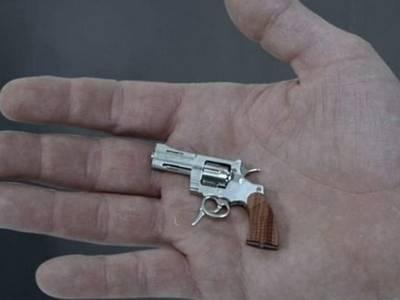 La Swiss Mini Gun, el revólver funcional más pequeño del mundo reconocido por Guinness World Records