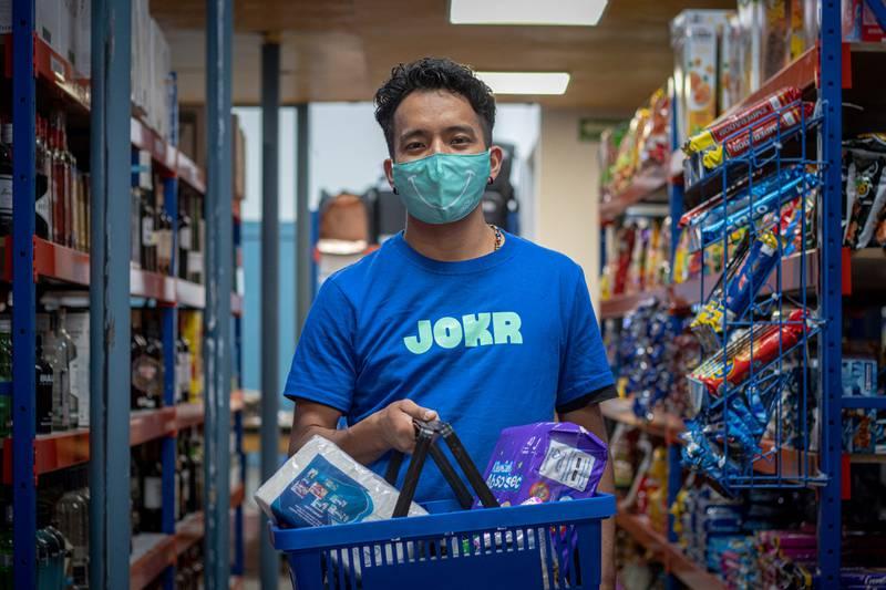 El servicio de JOKR está disponible en Santiago.