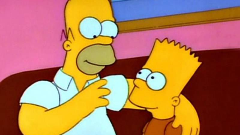 Los Simpson Homero buen padre