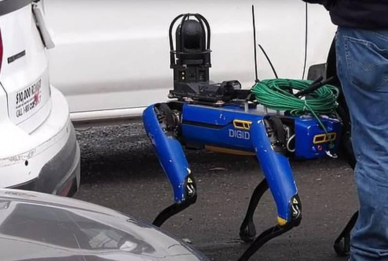 Spot, el perro robot de Boston Dynamics, apodado Digidog por el NYPD