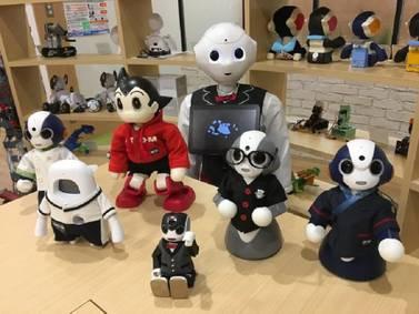 Conoce esta curiosa empresa de Japón se dedica exclusivamente al diseño de ropa para robots
