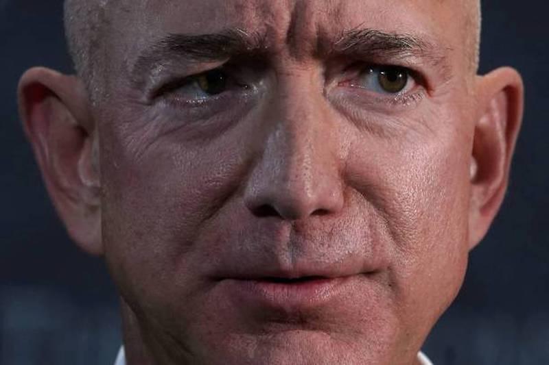 Jeff Bezos, fundador de Amazon y jefe de Blue Origin