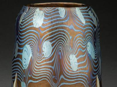 Extraño jarrón de vidrio comprado por 5 dólares podría ser vendido hasta en $15.000 en una subasta