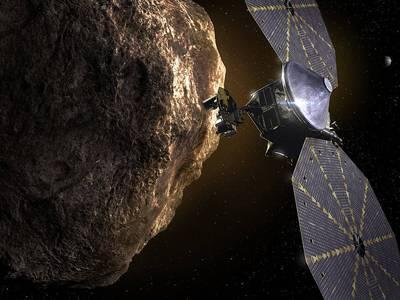 La NASA revela que la nave espacial Lucy tiene problemas con uno de sus paneles solares